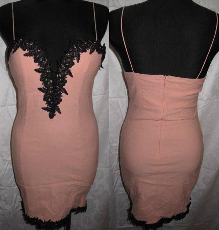 Персикова сукня rare л оздоба