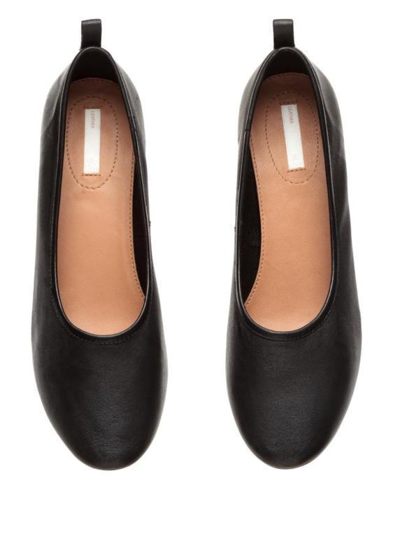 Туфли, лоферы, балетки кожа h&m p 42