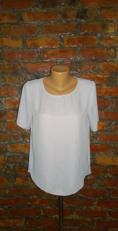 Блуза топ кофточка с ассиметричным низом f&f