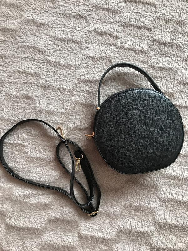 Трендовая сумка круглая new look