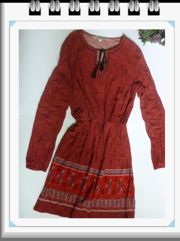 Милое платье этно стиль