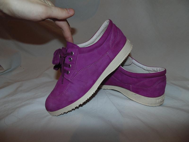 Туфли кроссовки кеды hogan оригинал замша и кожа