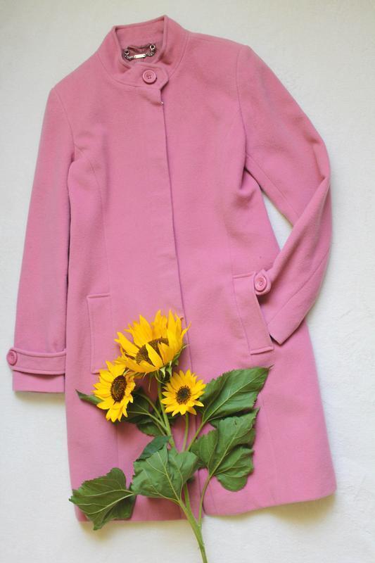 Розовое пальто от next, размер s