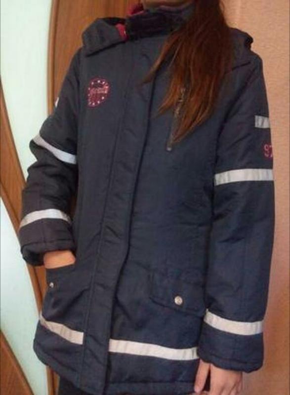 Демисезонное пальто куртка для девочки 10-11-12 лет