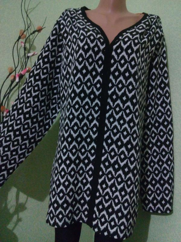 Вискозная блуза-туника 50-52