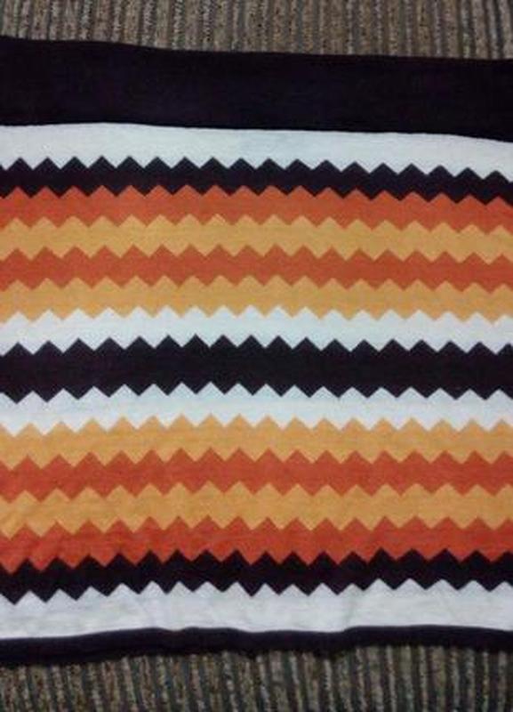 Стильная трикотадная юбка большого размера 54-56