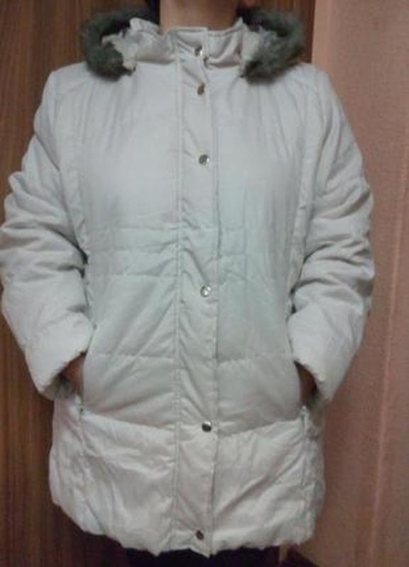 Демисезонная куртка с капюшоном 52-54,18-20 uk