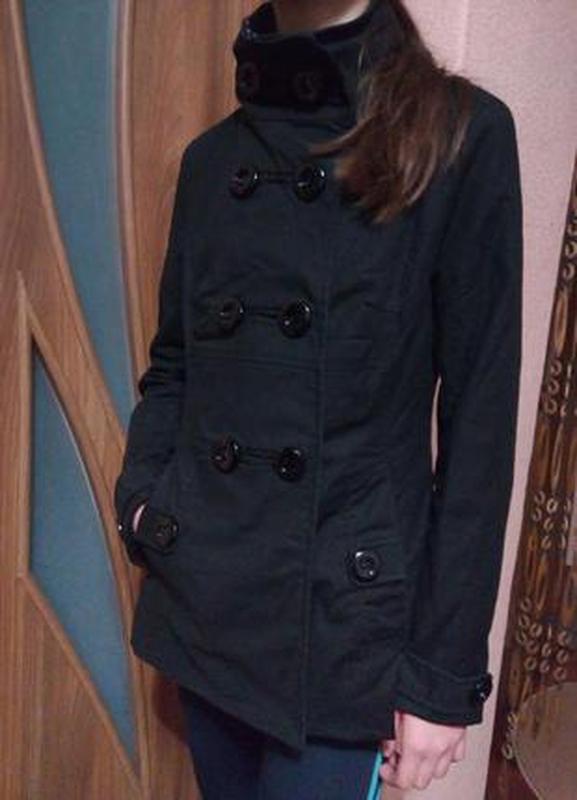 Стильный котоновый тренч плащ куртка xs-s,40-42