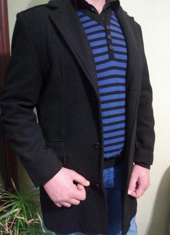 Стильное мужское демисезонное пальто тренч