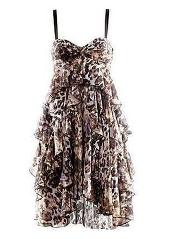 Летняя распродажа! платье-сарафан с воланами h&m