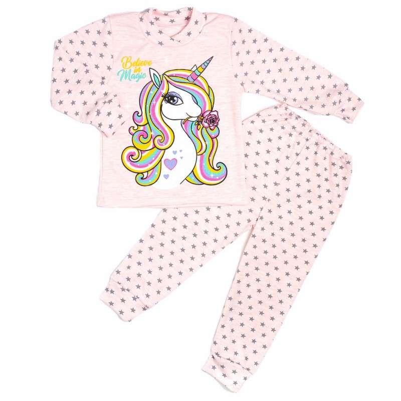 Красивая пижама для девочек, пони