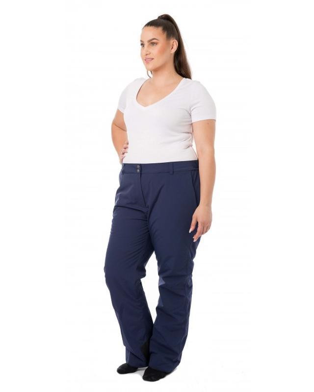 Теплые зимние брюки штаны большого размера ❄⛄