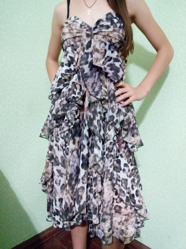 Шикарное летнее платье сарафан h&m турция.размер s,m 40-42-44.