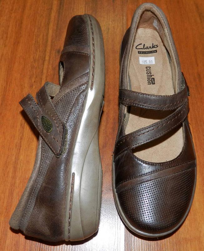 Clarks ! шикарные, легкие полностью кожаные туфли