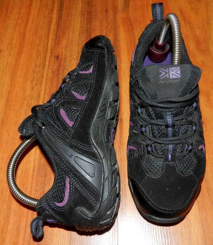 Karrimor! оригинальные, стильные, замшевые трекинговые кроссовки