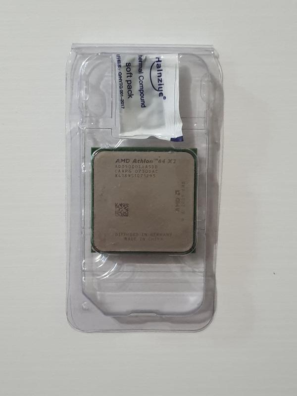 Процессор AMD Athlon 64 X2 5000+ ado5000iaa5dd - 2x2.6Ghz + паста