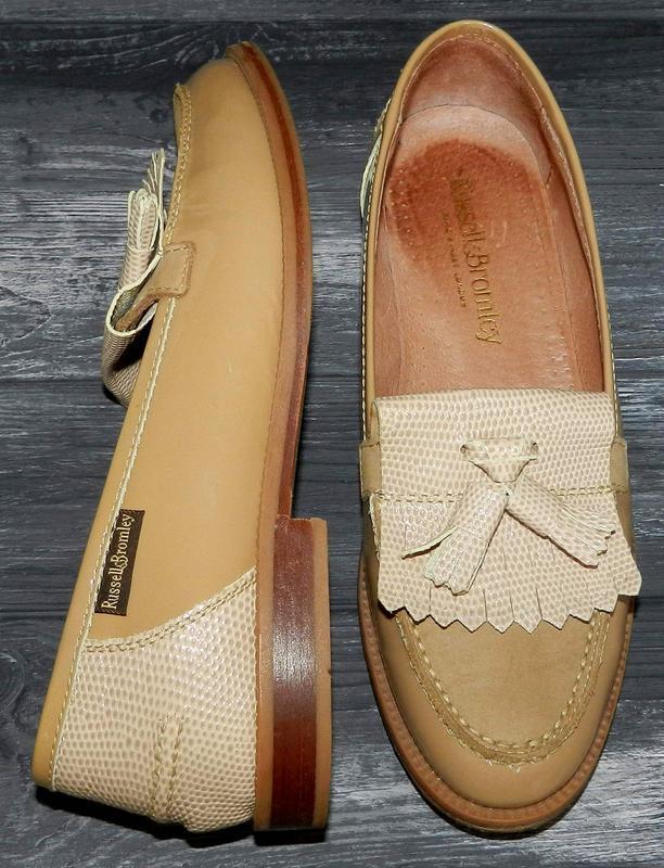Russell bromley ! оригинальные, кожаные, невероятно крутые туфли