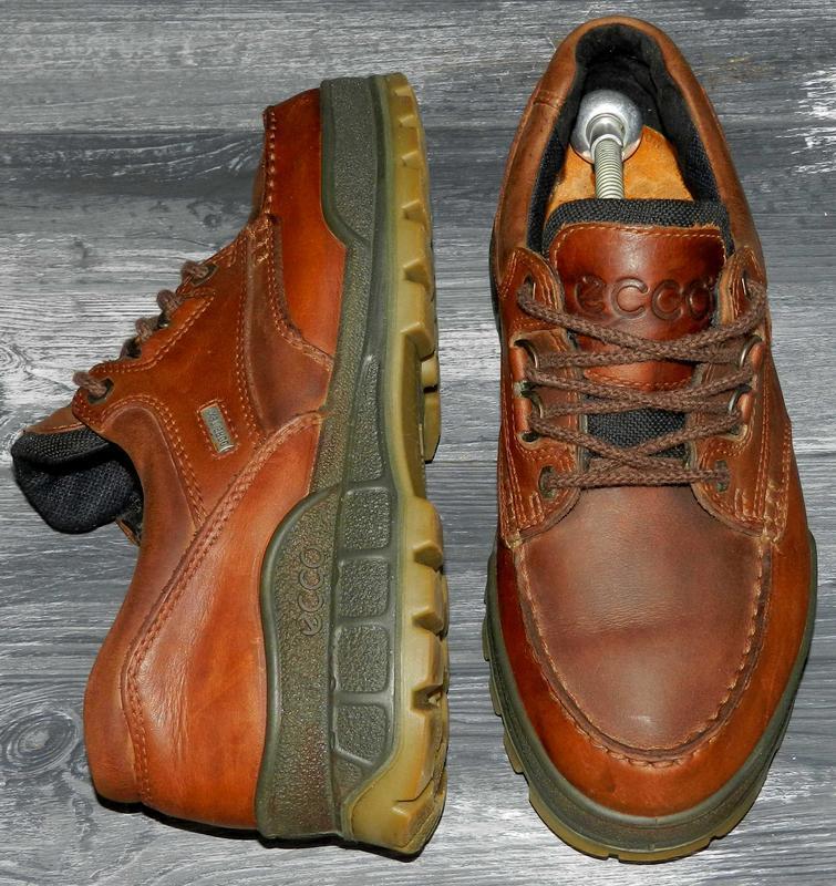 Ecco ! gore-tex ! оригинальные, кожаные, невероятно крутые туфли