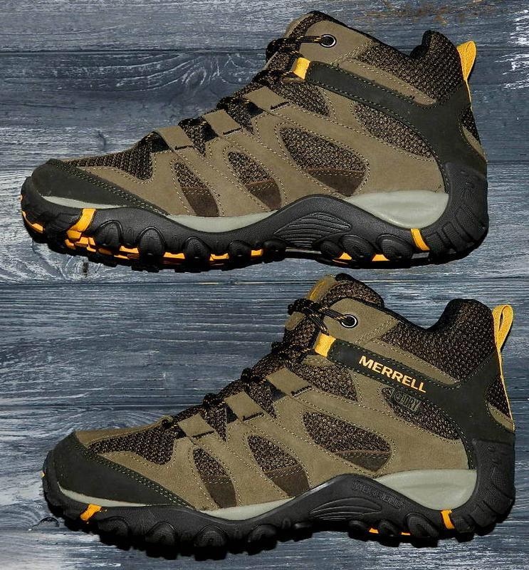 Новые! merrell ! оригинальные, кожаные, невероятно крутые ботинки - Фото 4