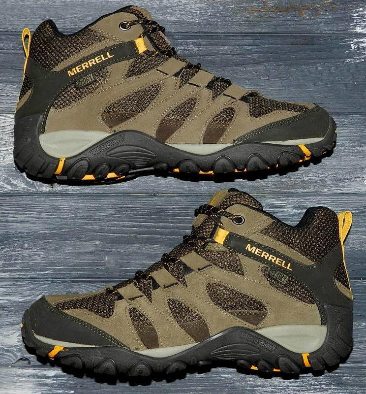 Новые! merrell ! оригинальные, кожаные, невероятно крутые ботинки - Фото 5