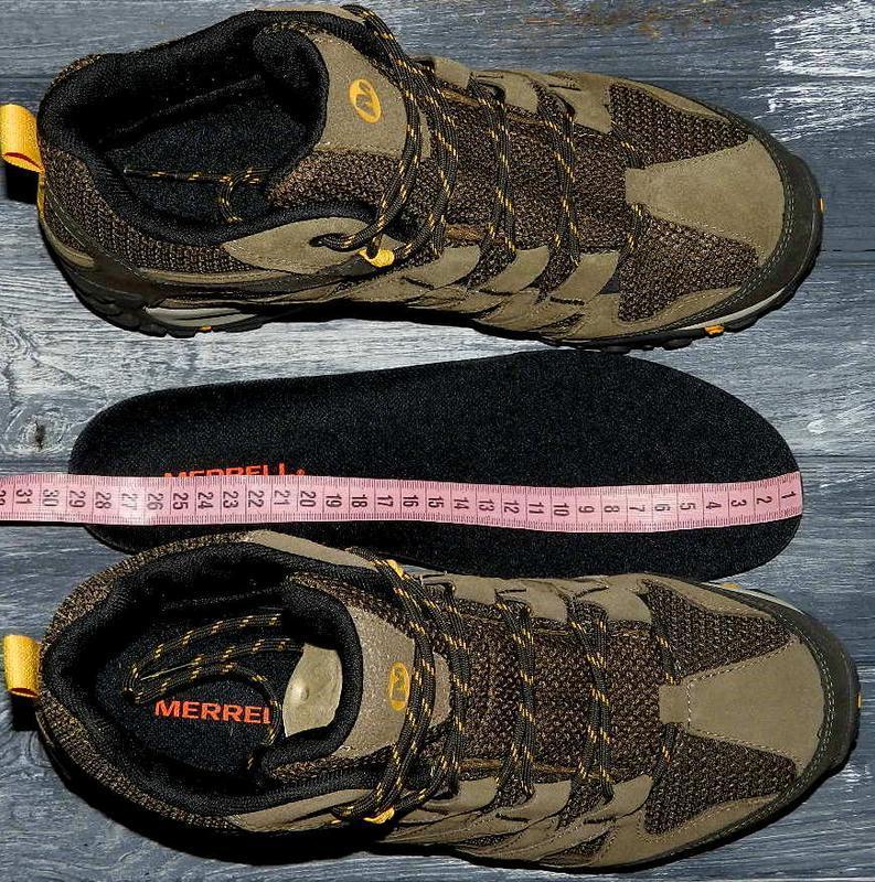 Новые! merrell ! оригинальные, кожаные, невероятно крутые ботинки - Фото 9