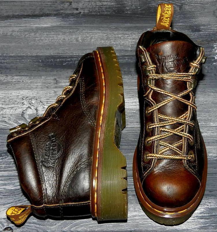 Dr martens ! оригинальные, кожаные, невероятно крутые ботинки