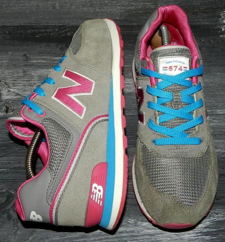 New balance 574 ! оригинальные, кожаные невероятно крутые крос...