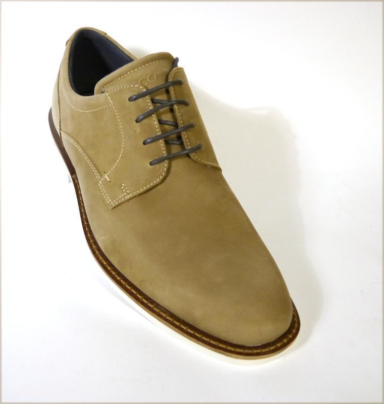 Ecco biarritz мужские туфли оксфорды оригинал экко 40