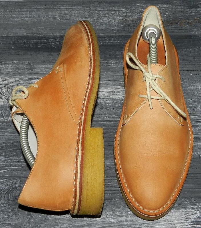 Clarks ! оригинальные, кожаные, невероятно крутые туфли