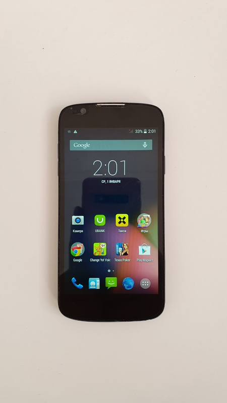 Мобильный телефон Fly IQ4413 Quad EVO Chic 3 Black