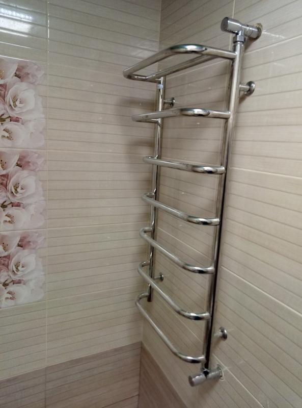 Установка полотенцешушителя