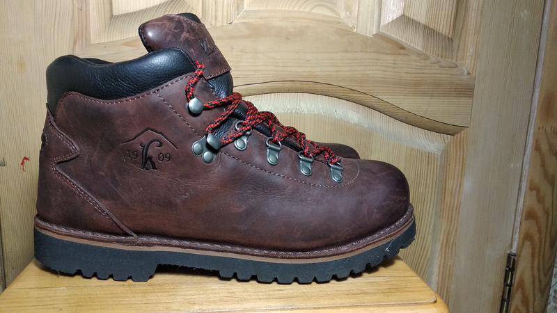 Мужские кожаные треккинговые ботинки kastinger (оригинал) 42 р.