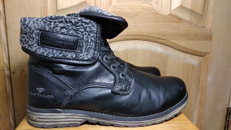 Мужские зимние ботинки tom tailor (оригинал)  42р.