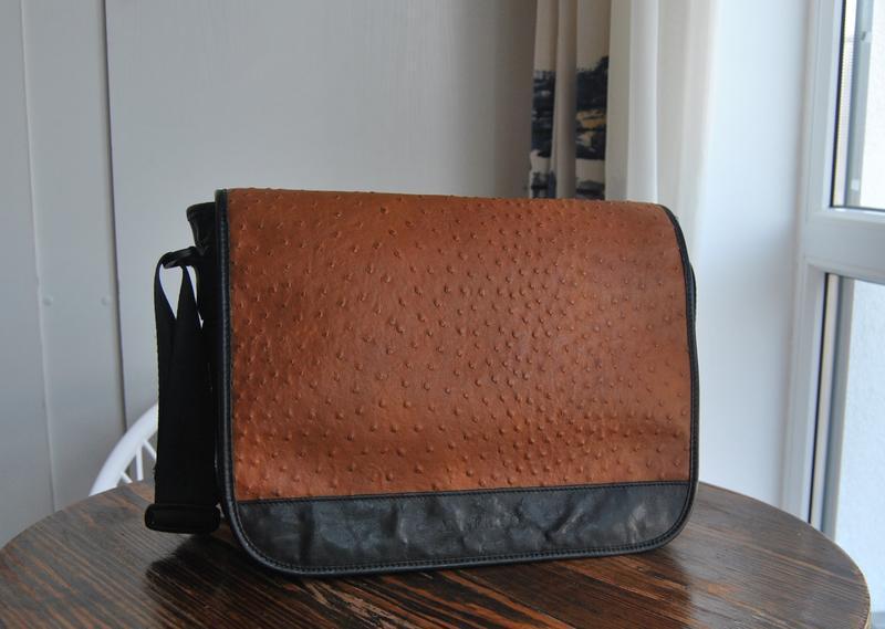 Кожаная сумка roberto angelico италия / шкіряна сумка унісекс