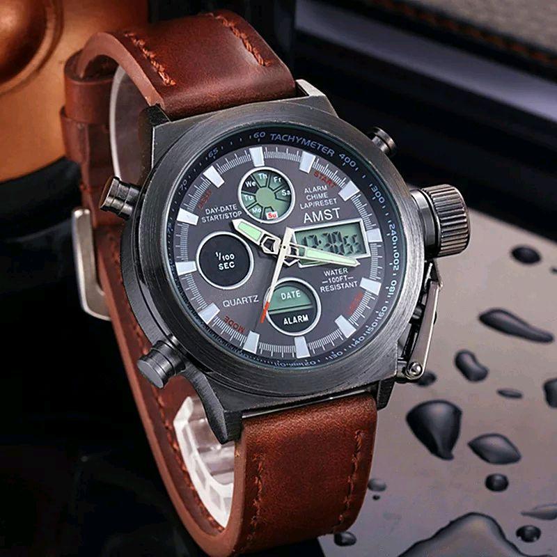 Военные часы AMST AM3003 + Клатч Baellerry Italia