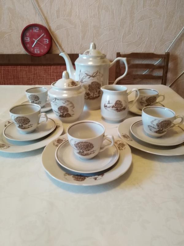 Кофейно-чайный сервиз производства СССР(новый)