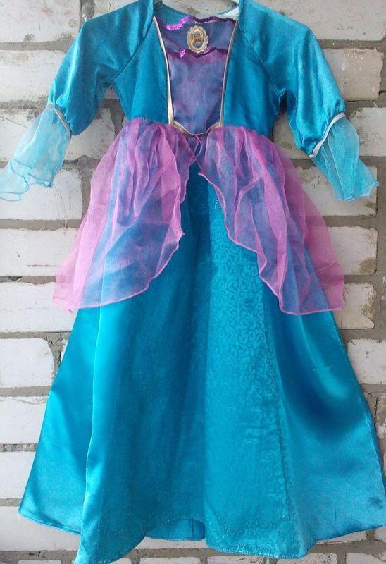Платье карнавальное, новогоднее для девочки, платье барби