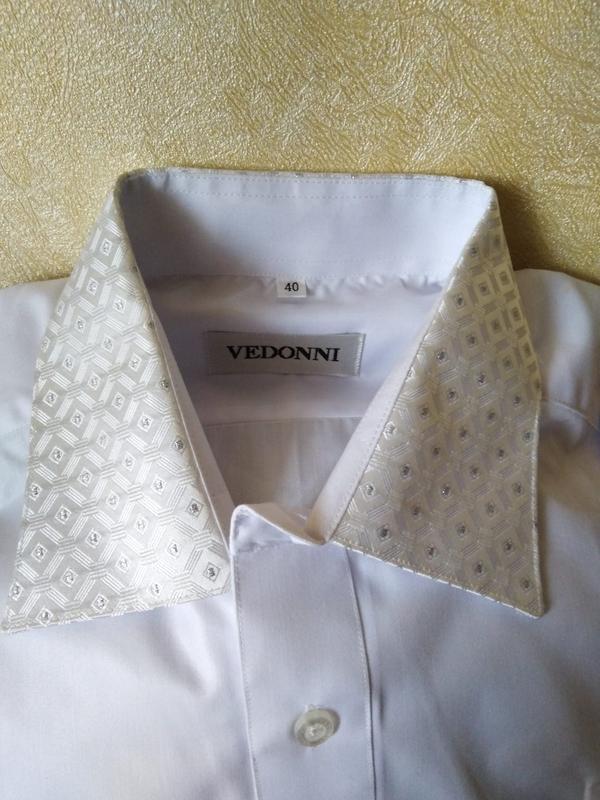 Рубашка мужская Vedonni размер 40 по вороту