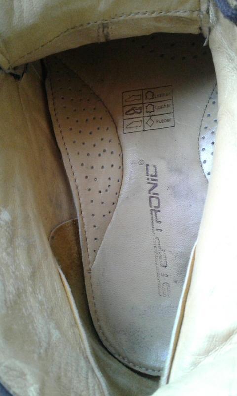 Ботинки замшевые с ортопедической стелькой - Фото 5