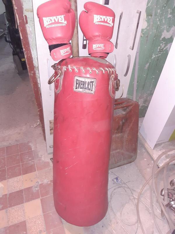 спортивный инвентарь боксёрская груша + боксёрские перчатки в ...