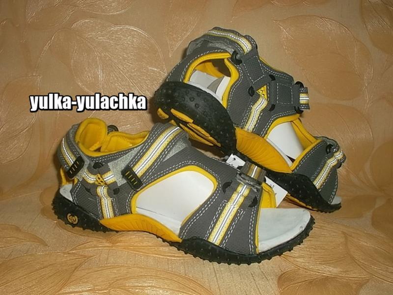 Спортивные сандалии босоножки кожаная стелька