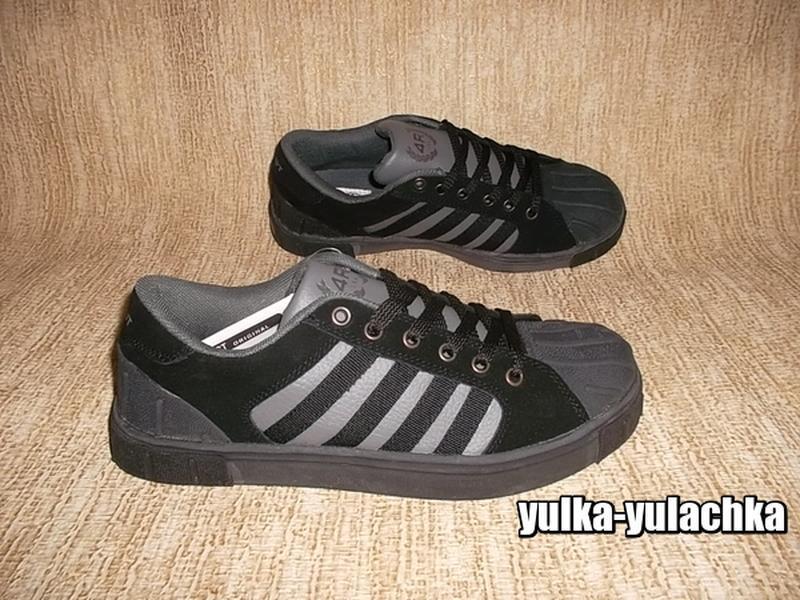 Мужские кроссовки с прорезиненным носком рр. 44, 45