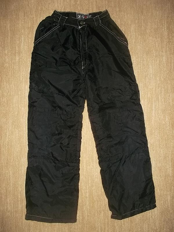 Зимние штаны на синтепоне рр. 152