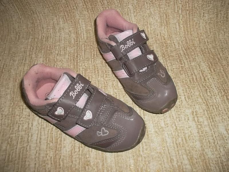 Кожаные кроссовки стелька=18,5 см.