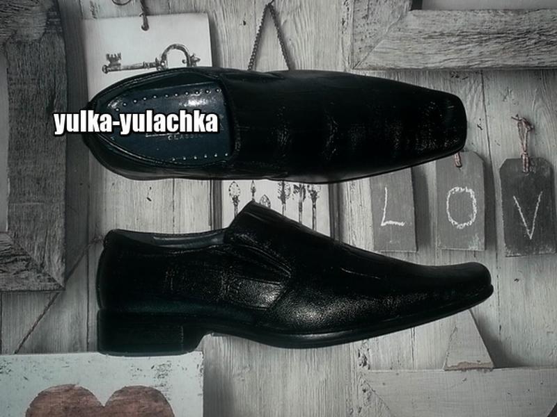 Классические деловые школьные туфли для мальчика