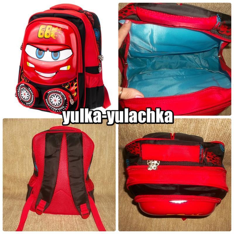 Рюкзак тачки маккуин 3d
