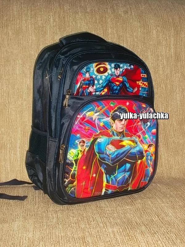 Рюкзак для мальчика рисунок 3d супермен superman