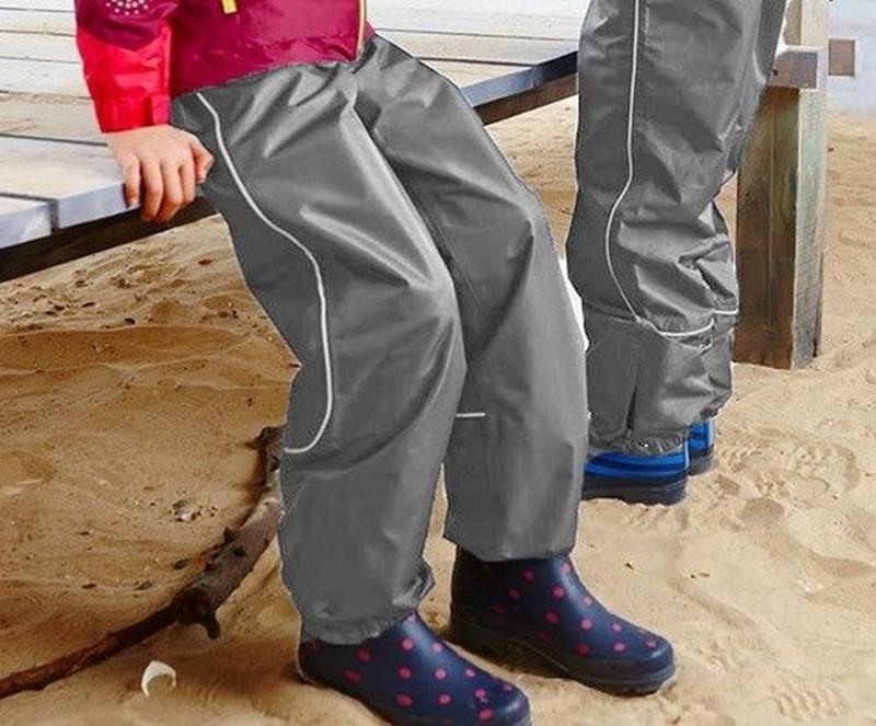Непромокаемые брюки дождевики рр. 146-152
