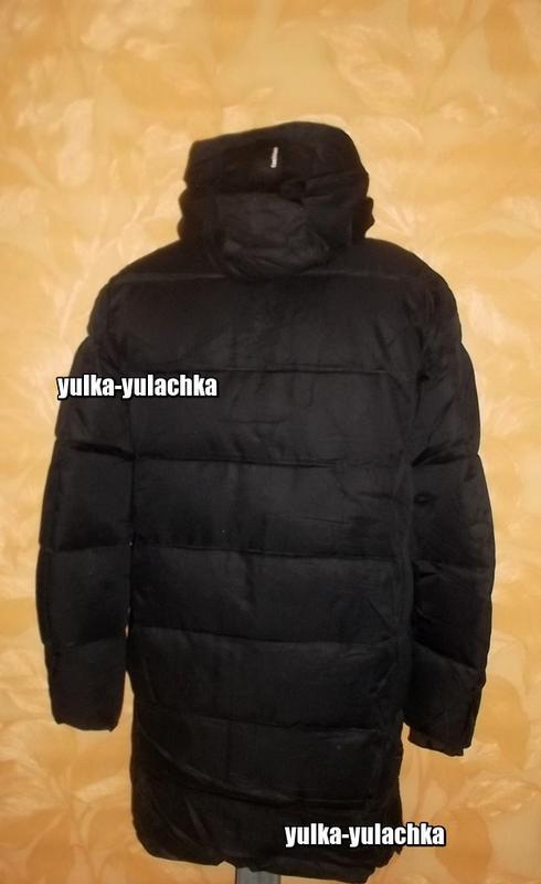 Зимняя мужская удлиненная куртка - Фото 2