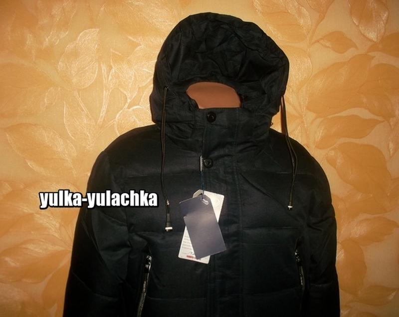 Зимняя мужская удлиненная куртка - Фото 3